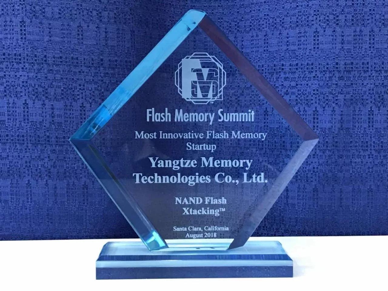 "Yangtze Memory Technologies Awarded ""Best of Show"" for Most Innovative Flash Memory Startup Company"
